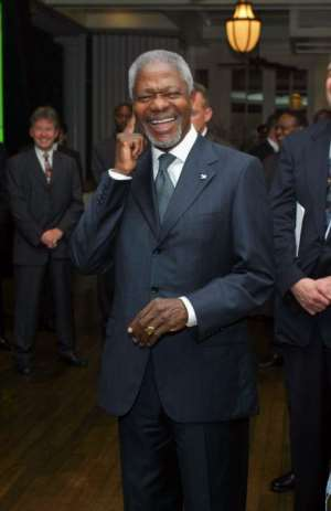 Campaign To Make Kofi Annan President